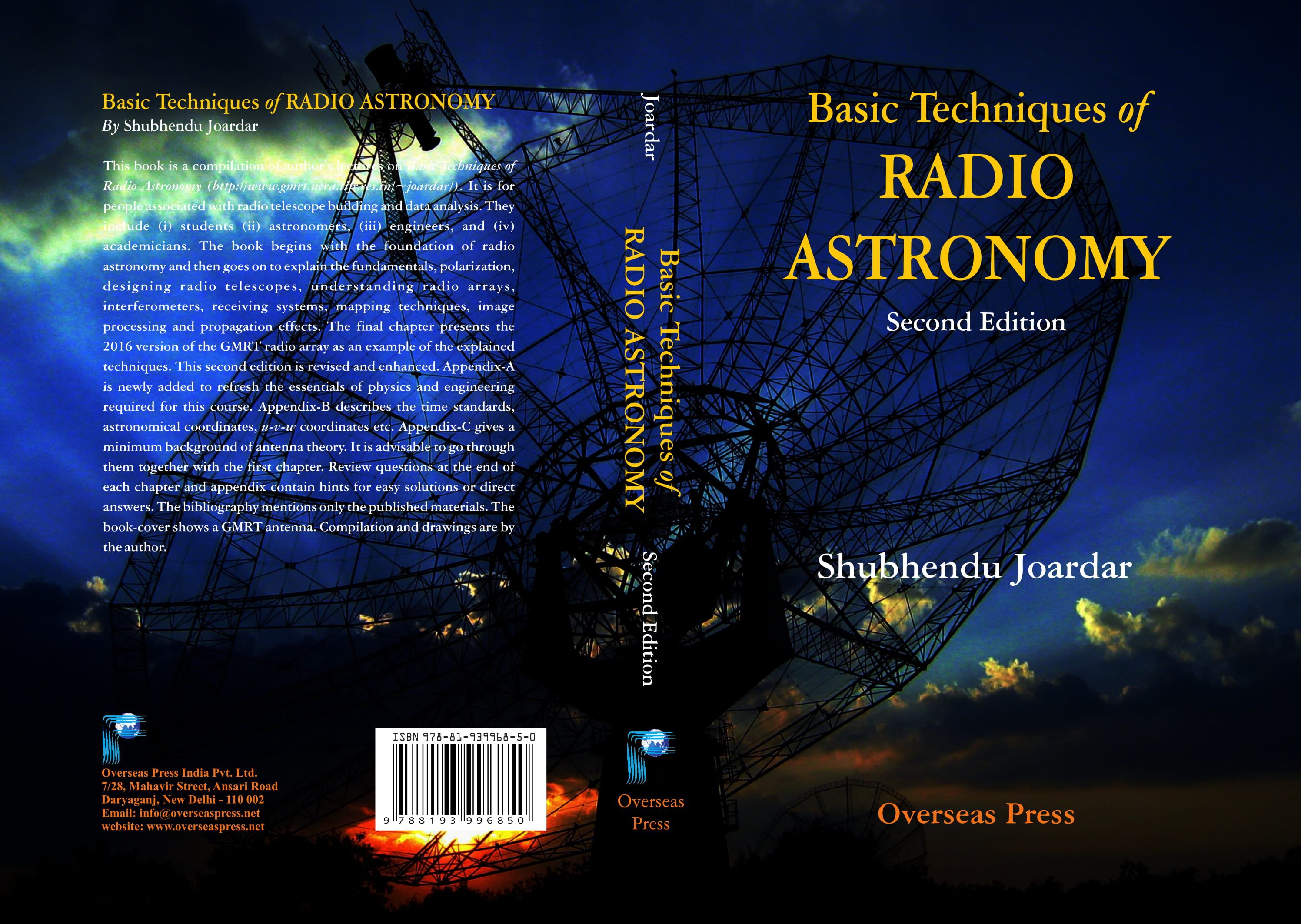 Basic Techniques Of Radio Astronomy